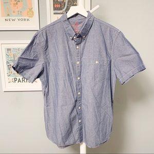 American Eagle Pattern Short Sleeve Shirt